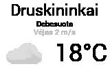Orai Druskininkuose