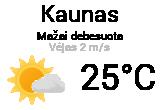 Orai, orų prognozė Kaune - Orai24.lt
