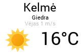Orai, orų prognozė Kelmėje - Orai24.lt
