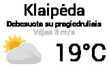 Orai Klaipėdoje