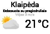 Orai, orų prognozė Klaipėdoje - Orai24.lt