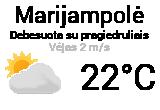 Orai Marijampolėje