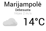 Orai, orų prognozė Marijampolėje - Orai24.lt