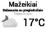 Orai Mažeikiuose