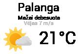 Orai, orų prognozė Palangoje - Orai24.lt