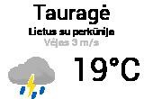 Orai Tauragėje