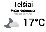 Orai, orų prognozė Telšiuose - Orai24.lt