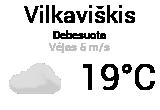 Orai, orų prognozė Vilkaviškyje - Orai24.lt